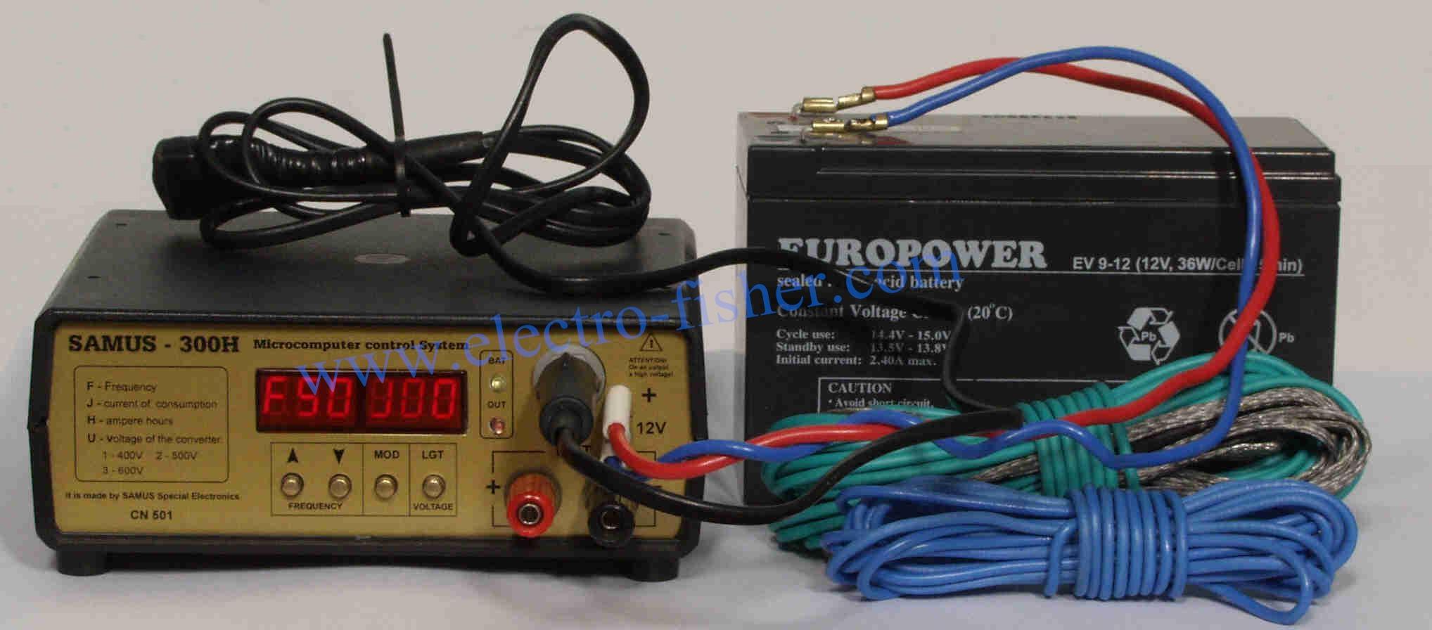 Fish Shocker Stunner Samus300 Fishing Tool For Electric 3v Electronic Stun Gun Circuit Shock
